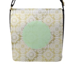 Seamless Abstract Background Pattern Flap Messenger Bag (l)