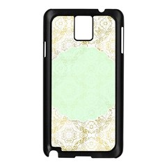Seamless Abstract Background Pattern Samsung Galaxy Note 3 N9005 Case (black)