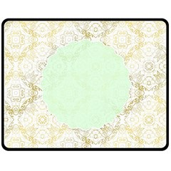 Seamless Abstract Background Pattern Double Sided Fleece Blanket (Medium)