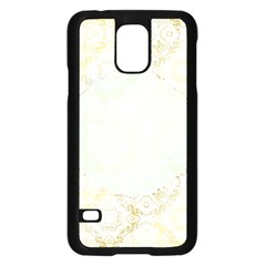 Seamless Abstract Background Pattern Samsung Galaxy S5 Case (Black)