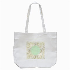 Seamless Abstract Background Pattern Tote Bag (white)