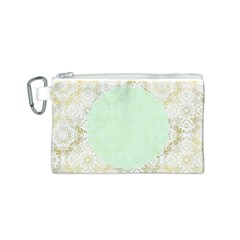 Seamless Abstract Background Pattern Canvas Cosmetic Bag (S)