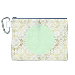 Seamless Abstract Background Pattern Canvas Cosmetic Bag (XL)