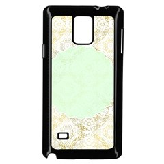 Seamless Abstract Background Pattern Samsung Galaxy Note 4 Case (Black)