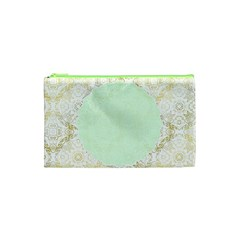 Seamless Abstract Background Pattern Cosmetic Bag (XS)