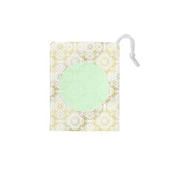 Seamless Abstract Background Pattern Drawstring Pouches (xs)