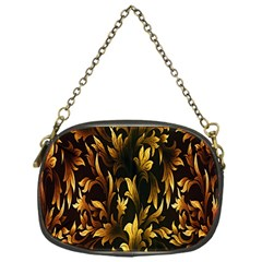 Loral Vintage Pattern Background Chain Purses (one Side)