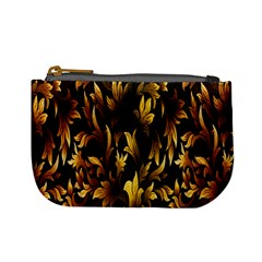 Loral Vintage Pattern Background Mini Coin Purses