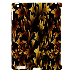 Loral Vintage Pattern Background Apple iPad 3/4 Hardshell Case (Compatible with Smart Cover)