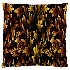 Loral Vintage Pattern Background Large Cushion Case (Two Sides)