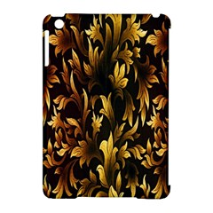 Loral Vintage Pattern Background Apple iPad Mini Hardshell Case (Compatible with Smart Cover)