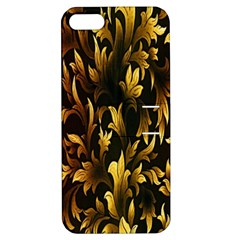 Loral Vintage Pattern Background Apple Iphone 5 Hardshell Case With Stand