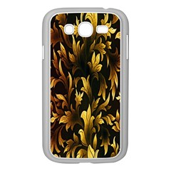 Loral Vintage Pattern Background Samsung Galaxy Grand DUOS I9082 Case (White)