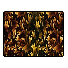 Loral Vintage Pattern Background Double Sided Fleece Blanket (Small)