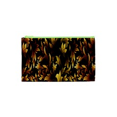 Loral Vintage Pattern Background Cosmetic Bag (XS)