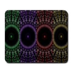 Digital Colored Ornament Computer Graphic Large Mousepads