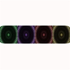 Digital Colored Ornament Computer Graphic Large Bar Mats