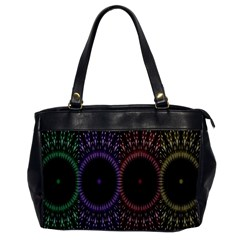 Digital Colored Ornament Computer Graphic Office Handbags