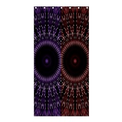 Digital Colored Ornament Computer Graphic Shower Curtain 36  x 72  (Stall)