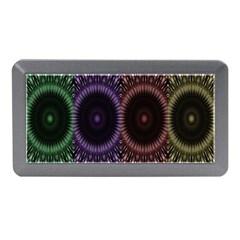 Digital Colored Ornament Computer Graphic Memory Card Reader (mini)