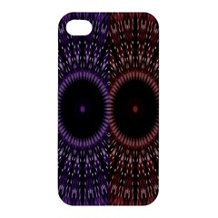 Digital Colored Ornament Computer Graphic Apple iPhone 4/4S Hardshell Case