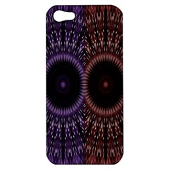 Digital Colored Ornament Computer Graphic Apple iPhone 5 Hardshell Case