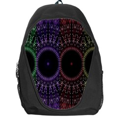 Digital Colored Ornament Computer Graphic Backpack Bag