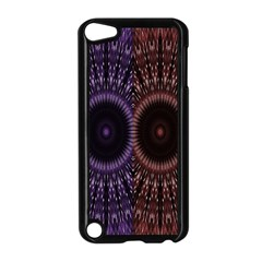 Digital Colored Ornament Computer Graphic Apple iPod Touch 5 Case (Black)