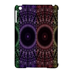 Digital Colored Ornament Computer Graphic Apple Ipad Mini Hardshell Case (compatible With Smart Cover)
