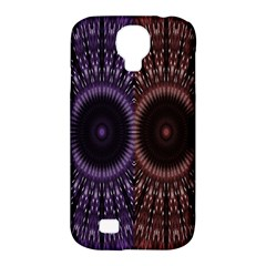 Digital Colored Ornament Computer Graphic Samsung Galaxy S4 Classic Hardshell Case (PC+Silicone)