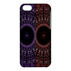 Digital Colored Ornament Computer Graphic Apple iPhone 5C Hardshell Case