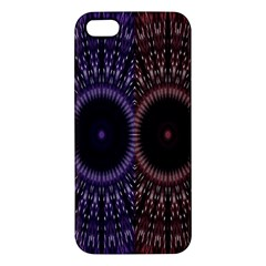 Digital Colored Ornament Computer Graphic iPhone 5S/ SE Premium Hardshell Case