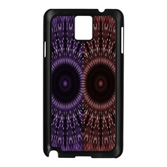 Digital Colored Ornament Computer Graphic Samsung Galaxy Note 3 N9005 Case (Black)