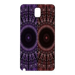 Digital Colored Ornament Computer Graphic Samsung Galaxy Note 3 N9005 Hardshell Back Case