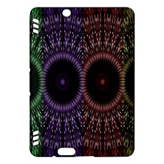 Digital Colored Ornament Computer Graphic Kindle Fire HDX Hardshell Case