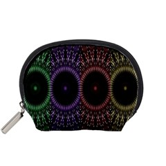 Digital Colored Ornament Computer Graphic Accessory Pouches (Small)