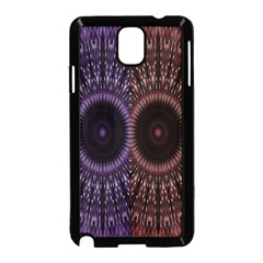 Digital Colored Ornament Computer Graphic Samsung Galaxy Note 3 Neo Hardshell Case (Black)