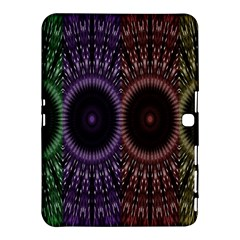 Digital Colored Ornament Computer Graphic Samsung Galaxy Tab 4 (10.1 ) Hardshell Case