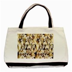 Floral Vintage Pattern Background Basic Tote Bag