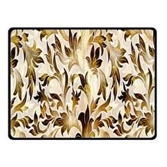 Floral Vintage Pattern Background Fleece Blanket (Small)