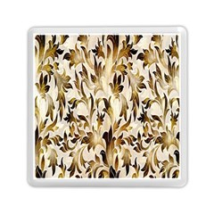 Floral Vintage Pattern Background Memory Card Reader (square)
