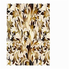 Floral Vintage Pattern Background Small Garden Flag (Two Sides)
