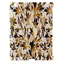 Floral Vintage Pattern Background Apple Ipad 3/4 Hardshell Case (compatible With Smart Cover)