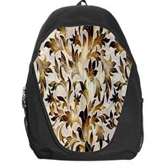 Floral Vintage Pattern Background Backpack Bag