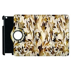 Floral Vintage Pattern Background Apple iPad 3/4 Flip 360 Case