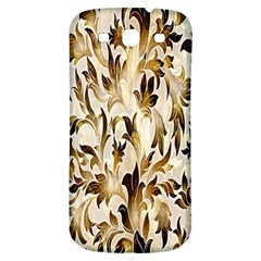 Floral Vintage Pattern Background Samsung Galaxy S3 S III Classic Hardshell Back Case