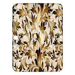 Floral Vintage Pattern Background Samsung Galaxy Tab 3 (10.1 ) P5200 Hardshell Case