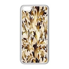 Floral Vintage Pattern Background Apple iPhone 5C Seamless Case (White)