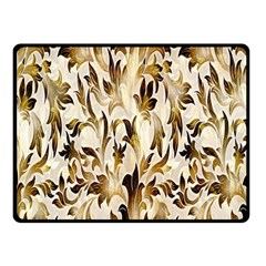 Floral Vintage Pattern Background Double Sided Fleece Blanket (Small)