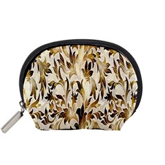 Floral Vintage Pattern Background Accessory Pouches (small)